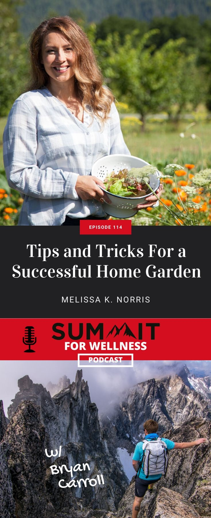 Melissa K Norris teaches us to grow a successful home garden