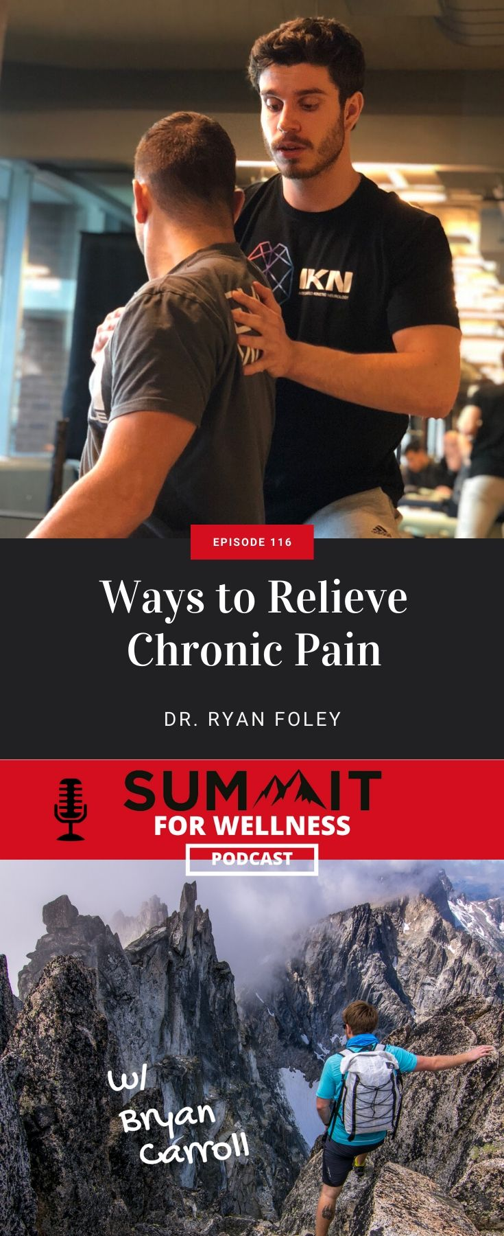 Ryan Foley teaches how to reduce chronic pain