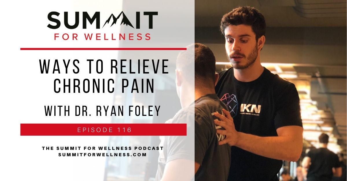 Ryan Foley of Integrated Kinetic Neurology helps us to reduce chronic pain