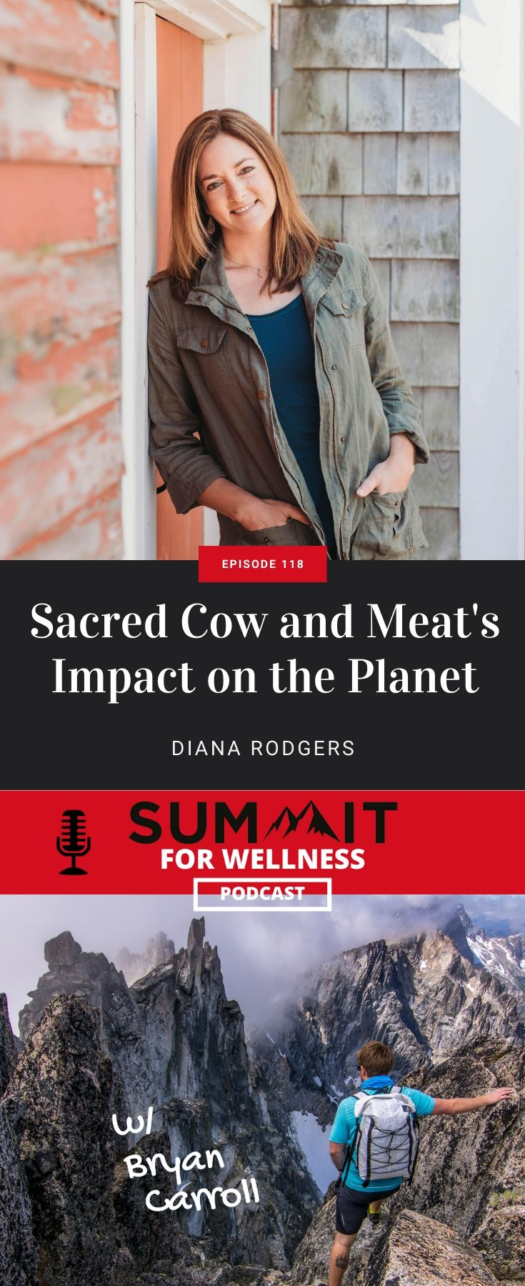 Diana Rodgers is launching Sacred Cow and teaching how meat impacts the earth
