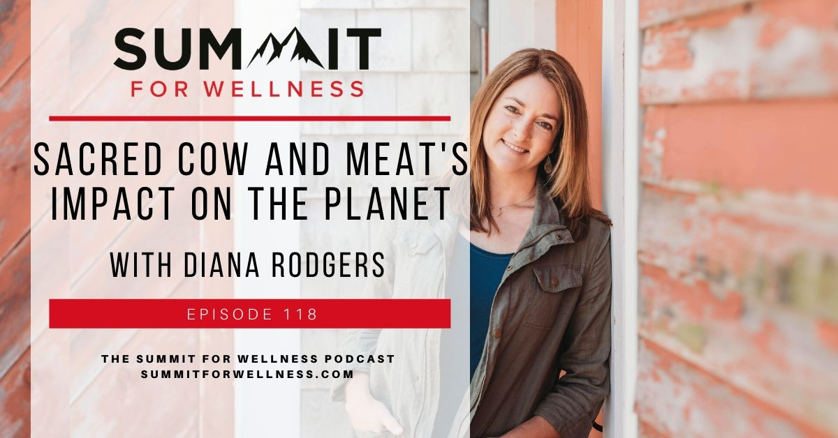 Diana Rodgers teaches how meat impacts the earth in her new book Sacred Cow