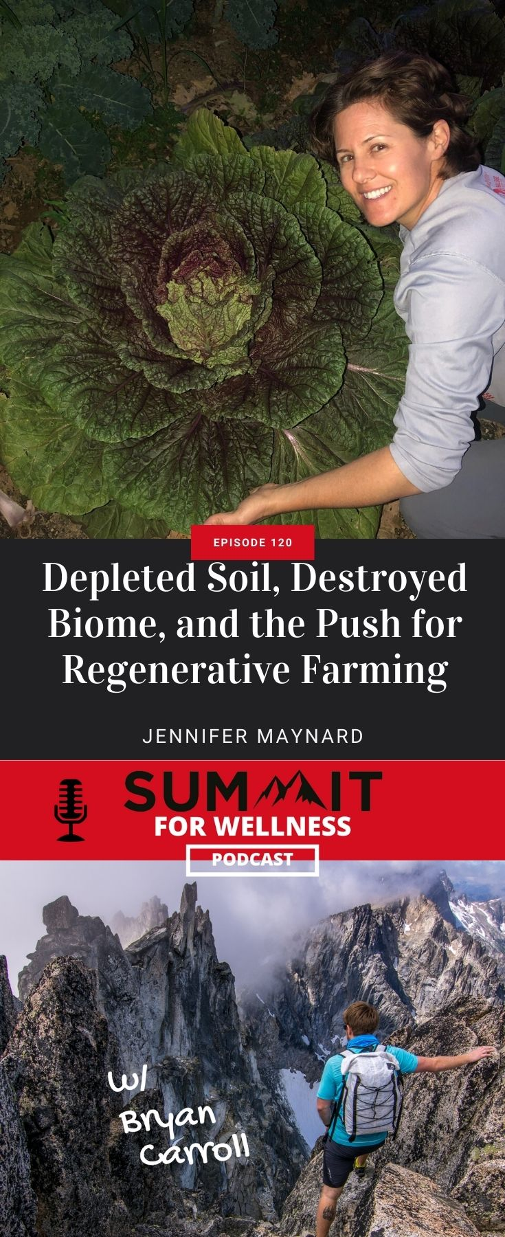 Jennifer Maynard shares how farming destroys the soil