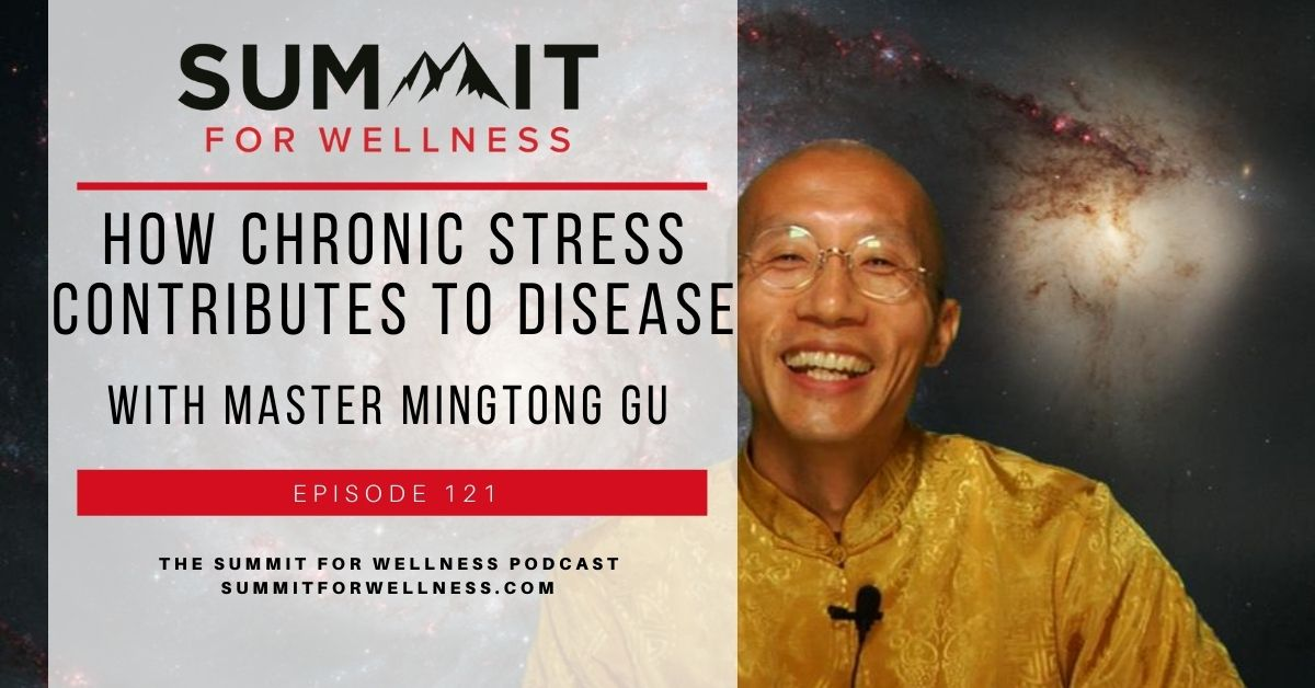 Master Mingtong Gu teaches us ways that the ancient Chinese reduce their chronic stress that impacts disease.