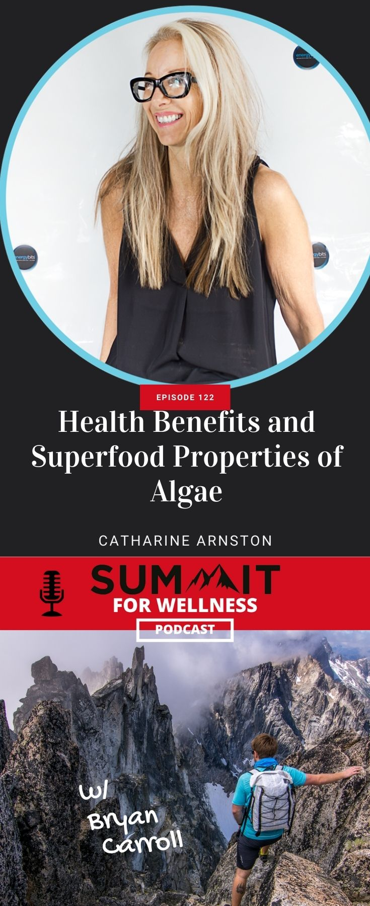 Catharine Arnston talks about how algae can be beneficial for health