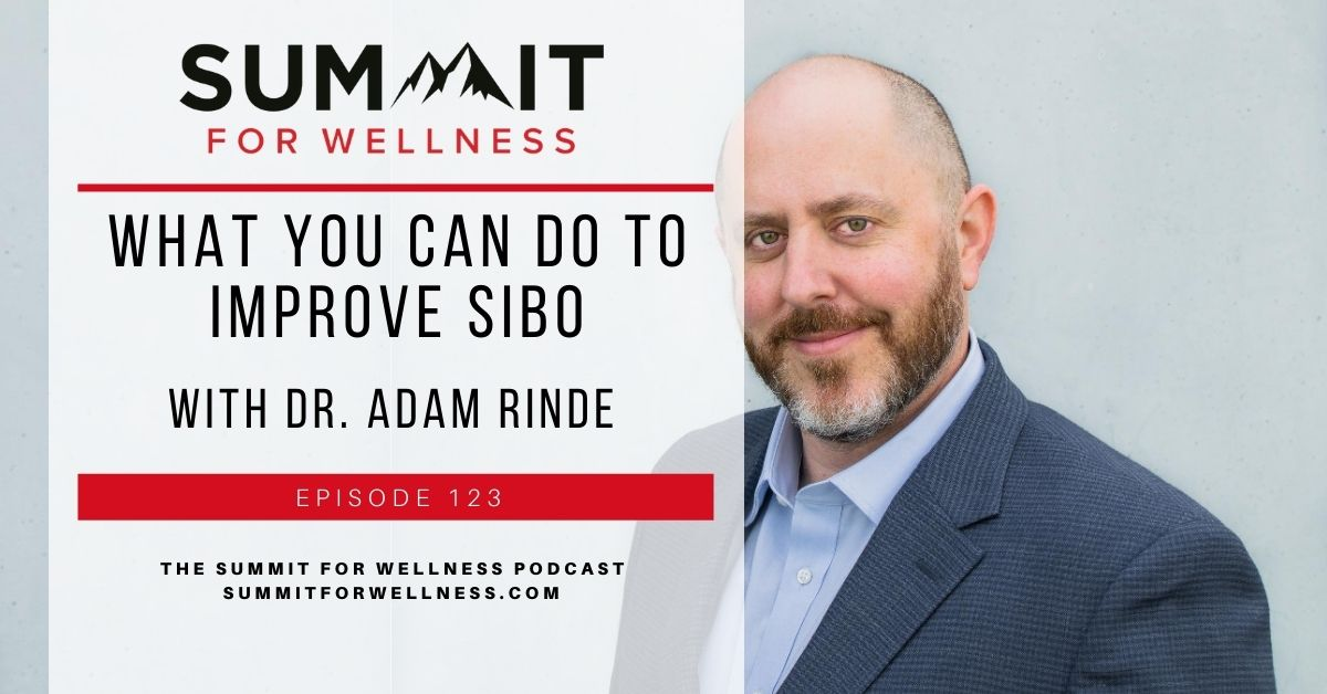 Dr. Adam Rinde shares how to recover from SIBO