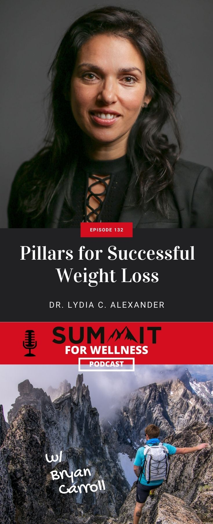 Learn from Dr. Lydia C. Alexander the pillars to lose weight