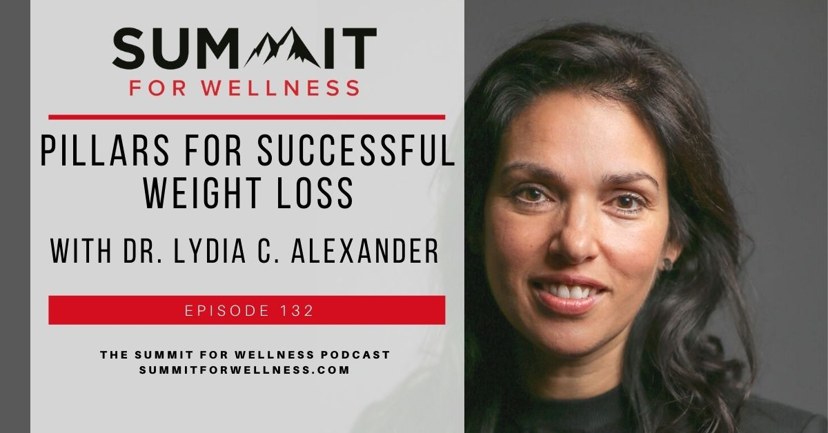 Lydia C Alexander teaches us the pillars for successful weight loss