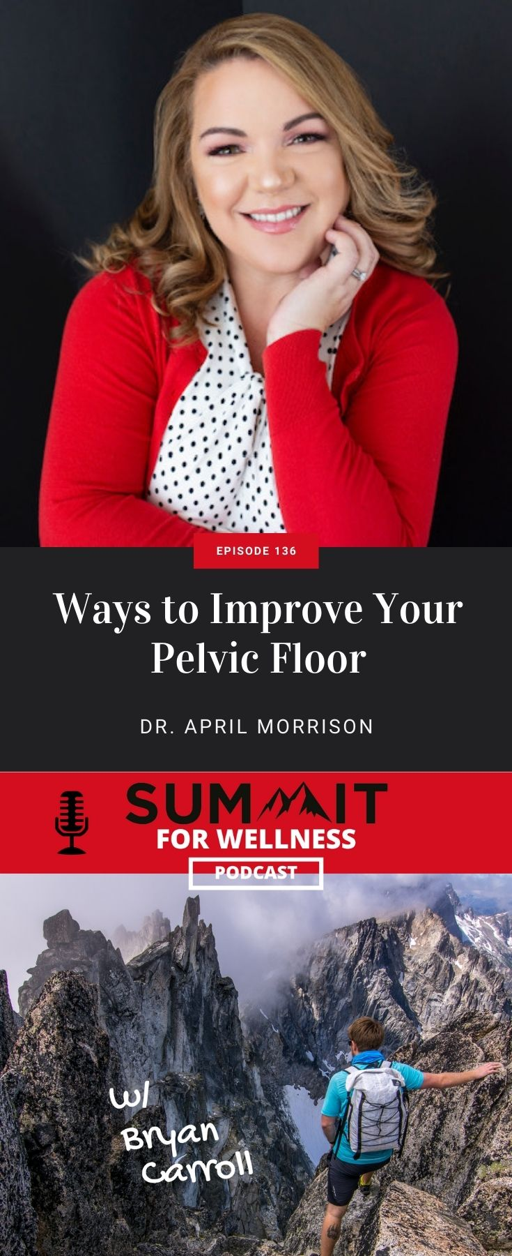 Learn how to take care of your pelvic floor from April Morrison