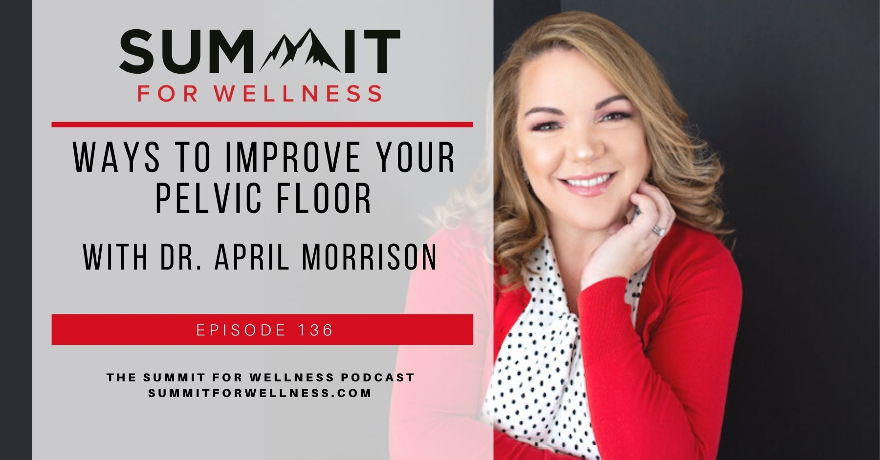 Dr. April Morrison teaches how to take care of your pelvic floor