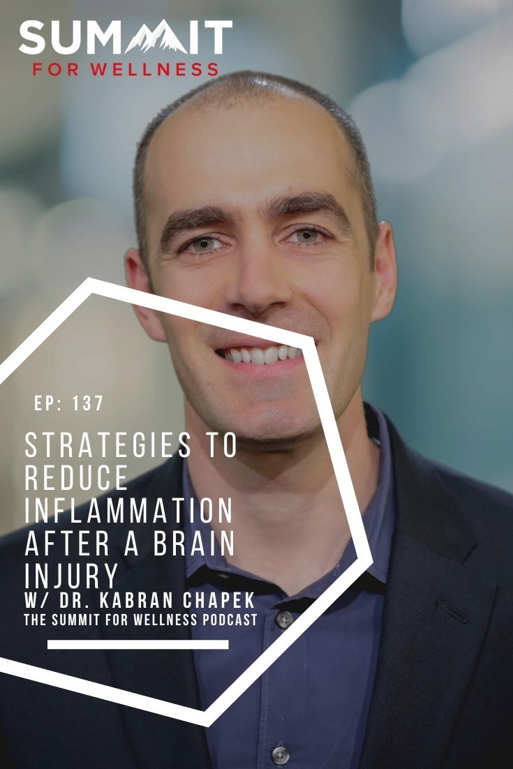 Learn from Dr. Kabran Chapek about ways to heal faster after a brain injury
