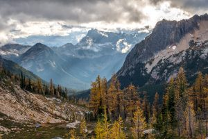 Moody storms in the North Cascades