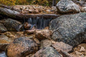 Waterfalls along the PCT