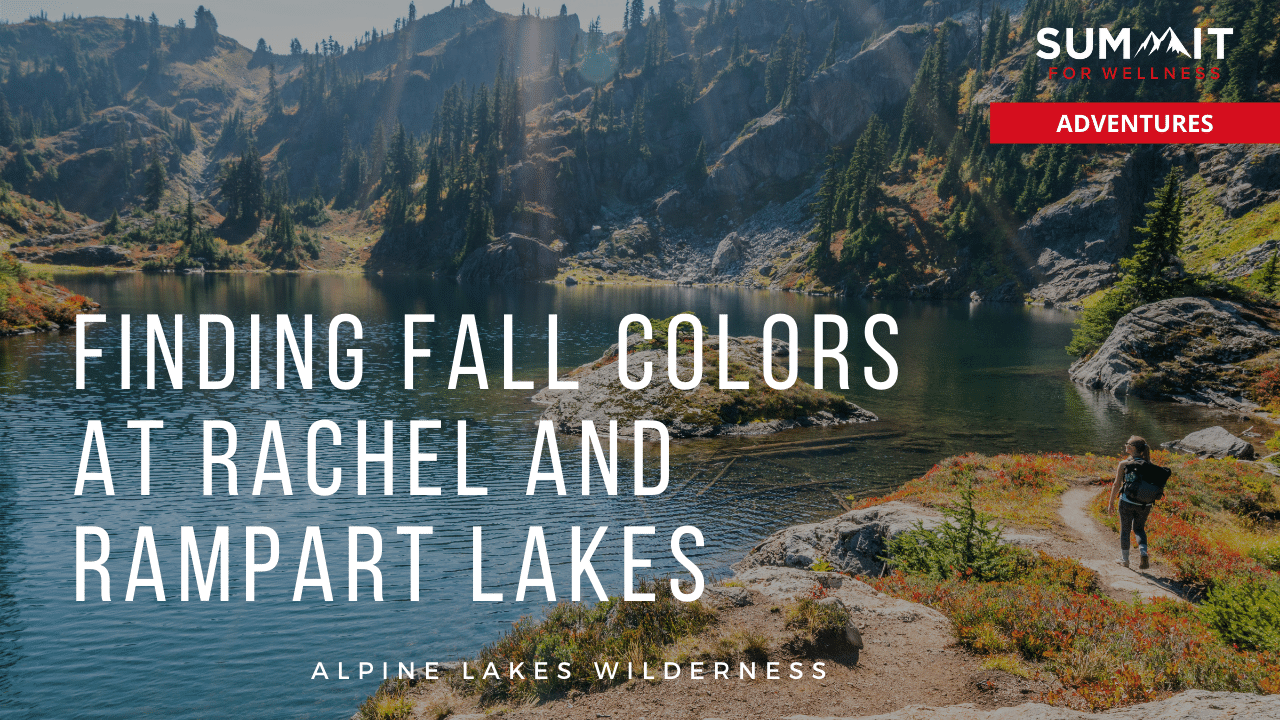 Day hike out to Rampart Lakes to see the beautiful fall colors.