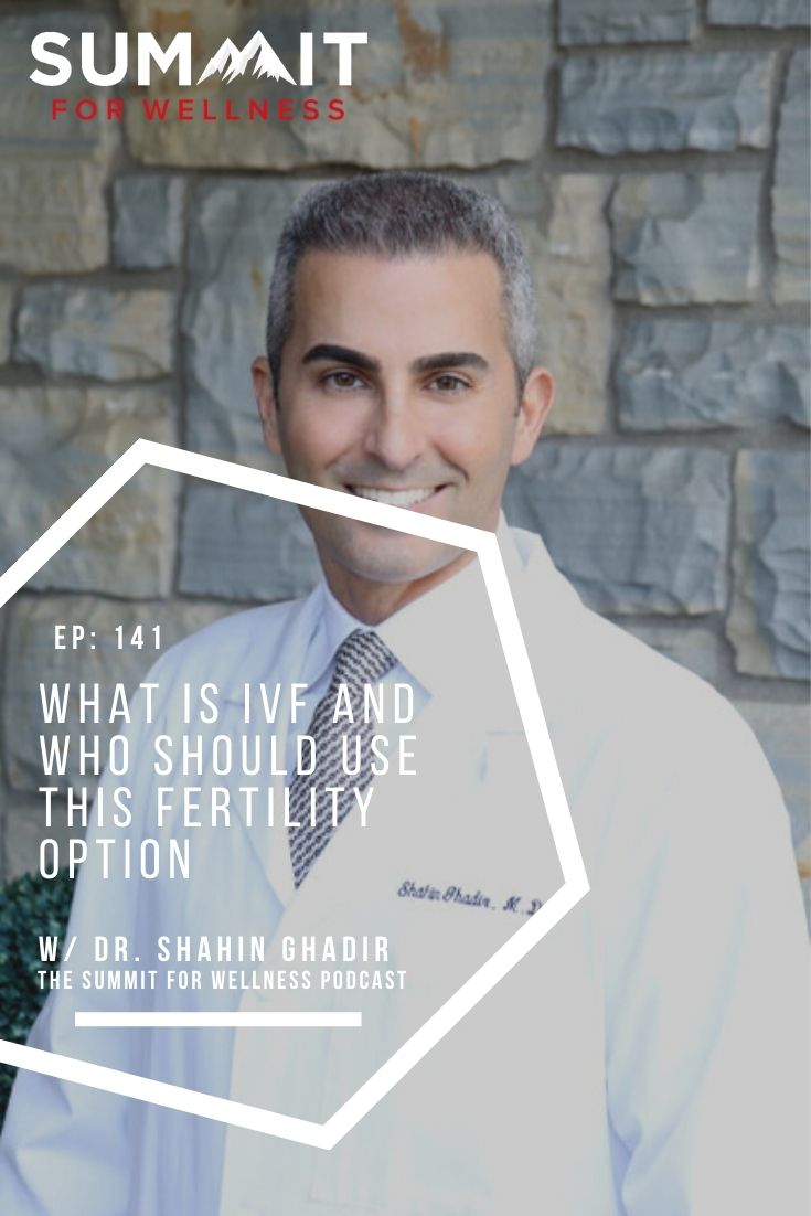 Dr. Shahin Ghadir teaches us about fertility treatments, such as IVF