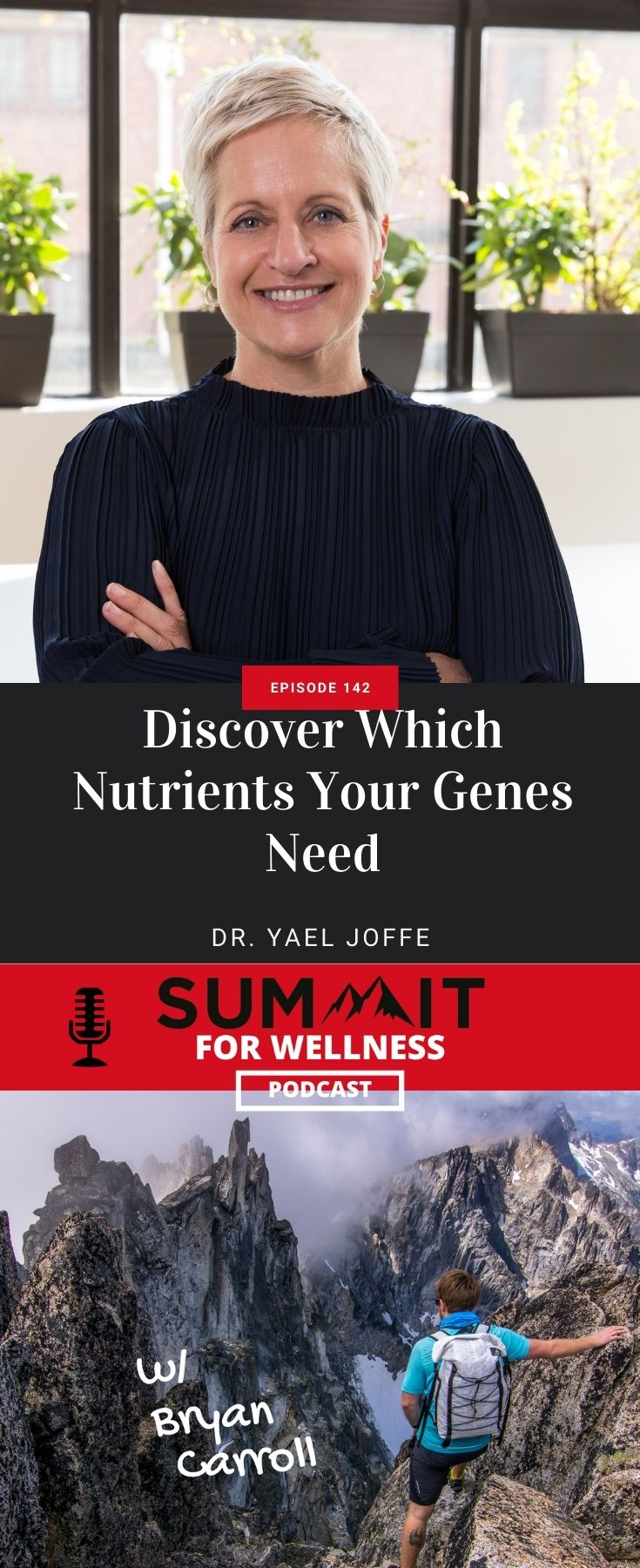 Dr. Yael Joffe teaches about genetics and nutrition