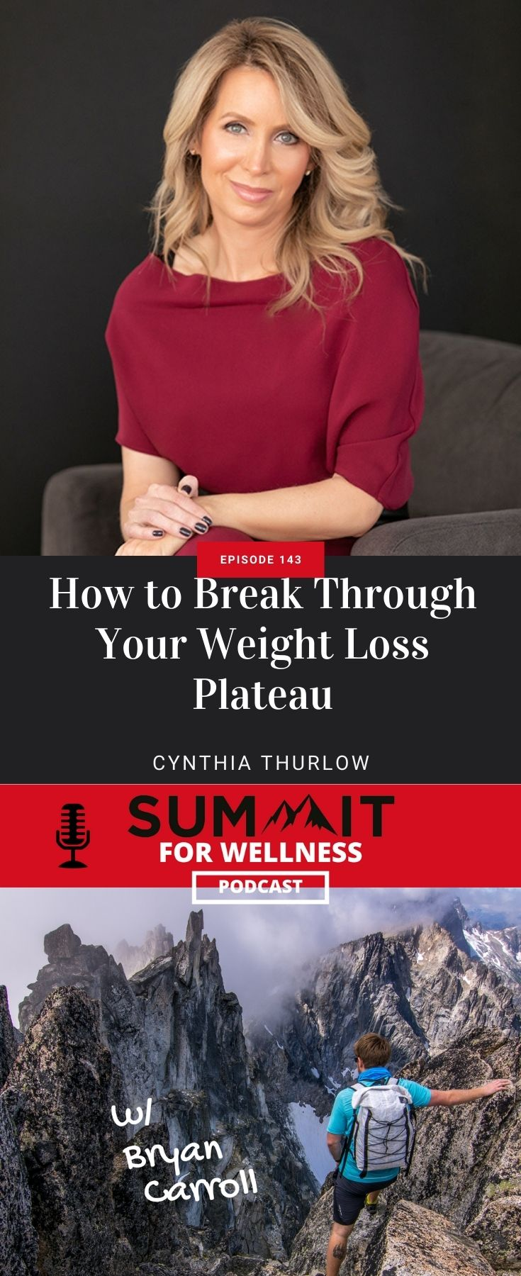 Learn from Cynthia Thurlow how to break through weight loss plateaus