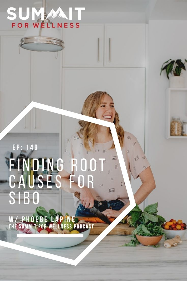 Phoebe Lapine teaches simple ways to live with SIBO