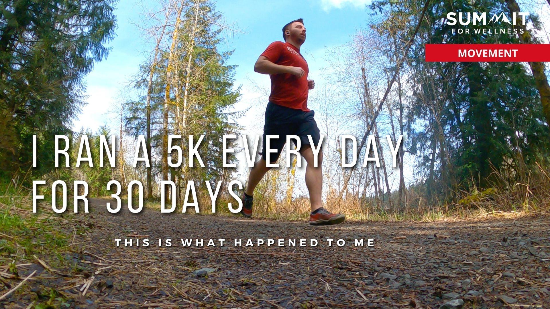 Learn what happened to my body after 30 days of 5ks
