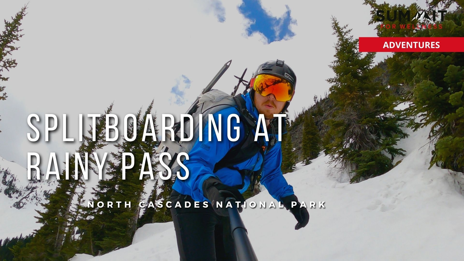 Bring your splitboards for a backcountry tour at Rainy Pass