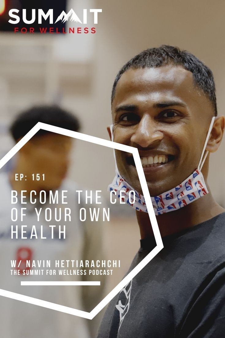 Navin Hettiarachchi uses his experience with professional athletes to teach us how to optimize health