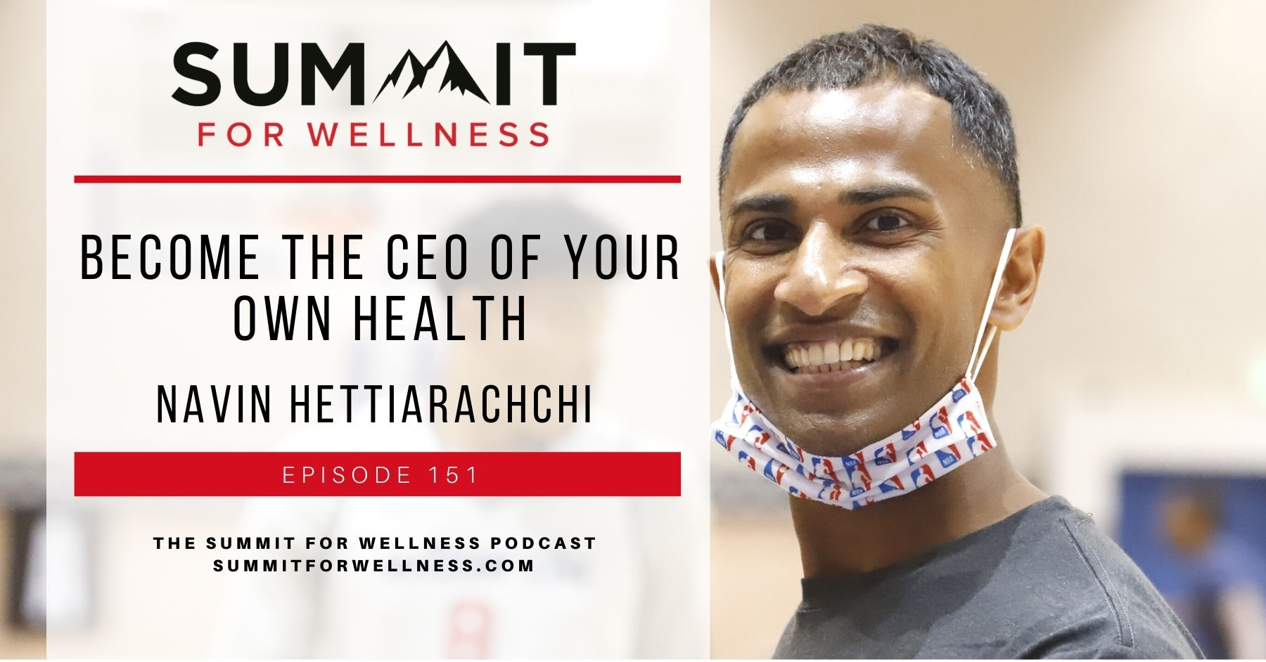 Navin Hettiarachchi teaches us how to become the CEO of our own health