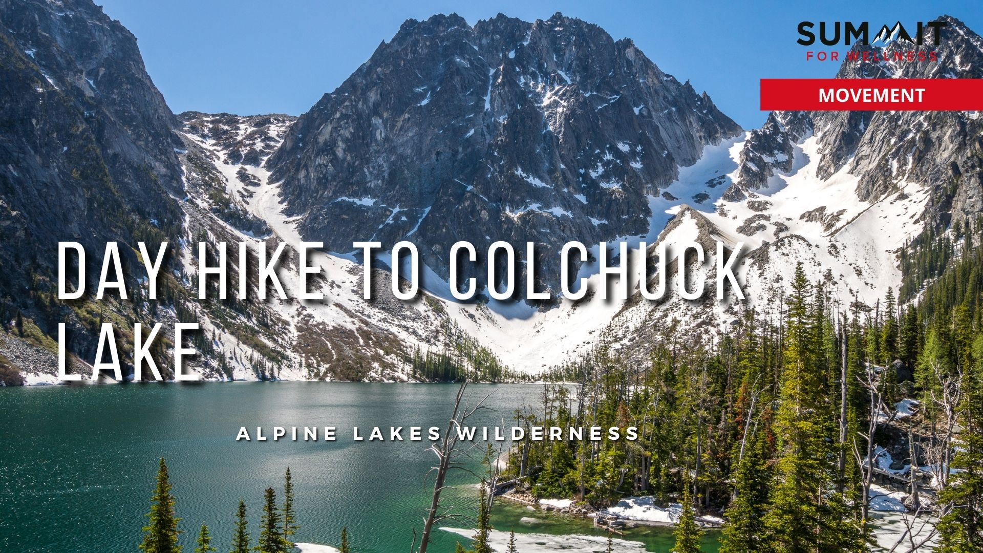 This 8 mile hike to Colchuck Lake is the gateway to the Enchantments