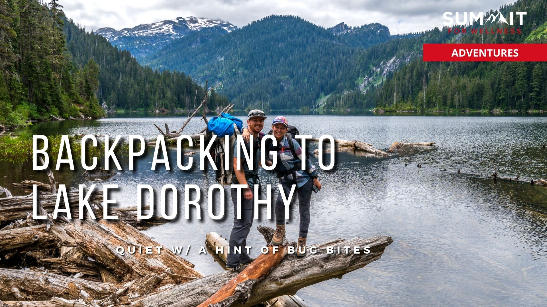 Backpack to Lake Dorothy to enjoy a quiet lake