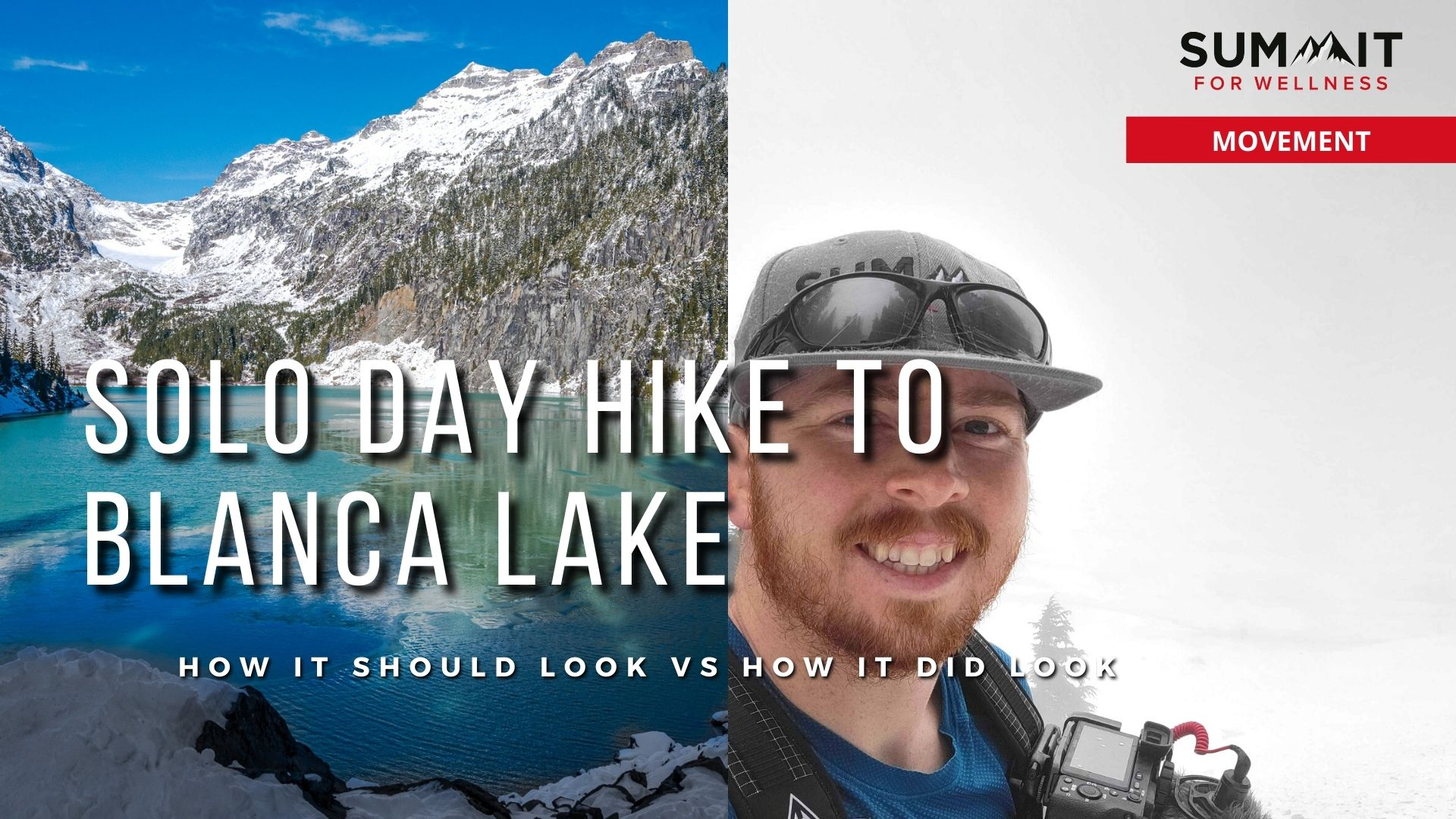 Views of Blanca Lake from 2019 to 2021
