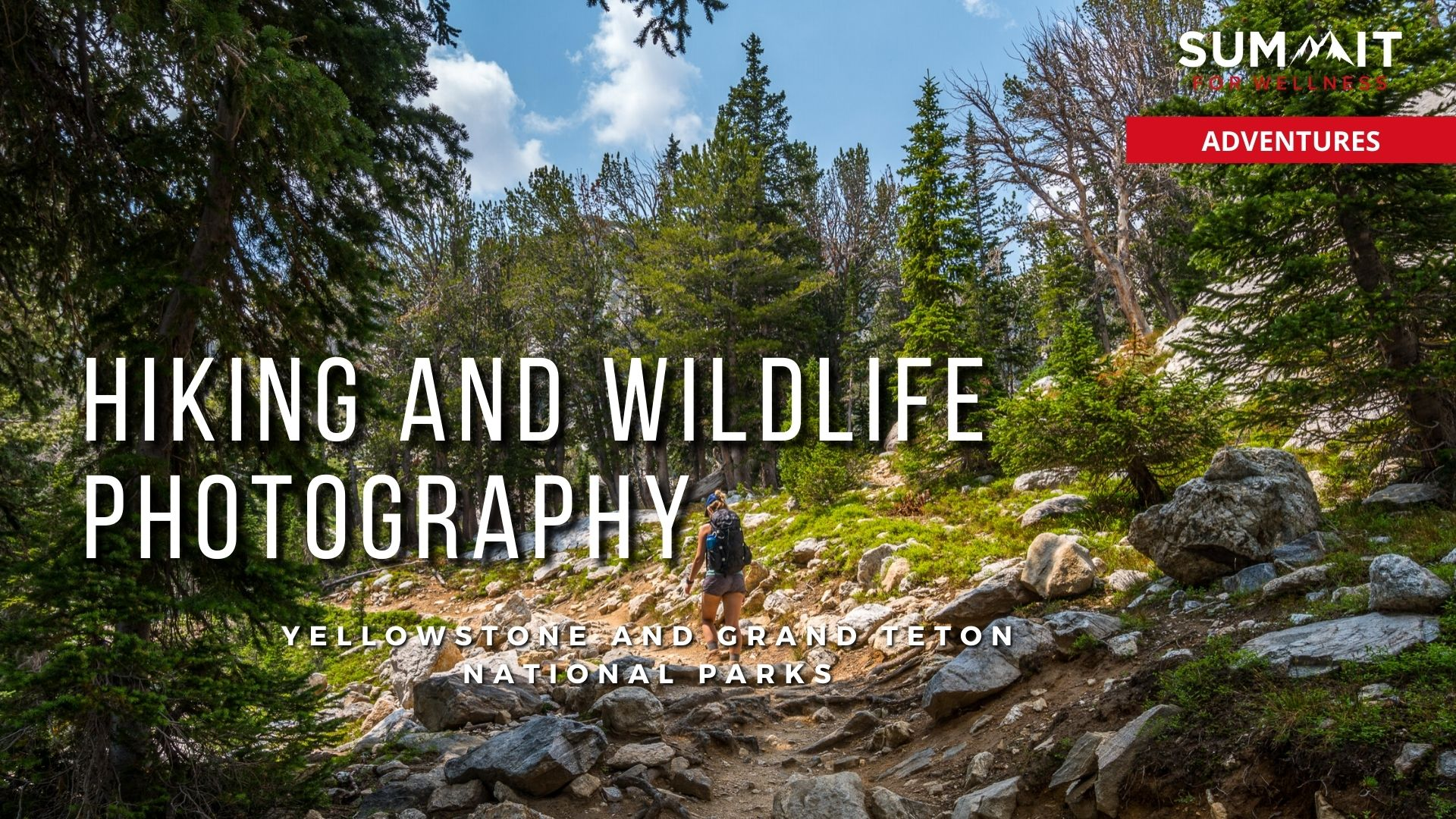 Follow Bryan and Sarah Carroll as they hike through Yellowstone and the Tetons