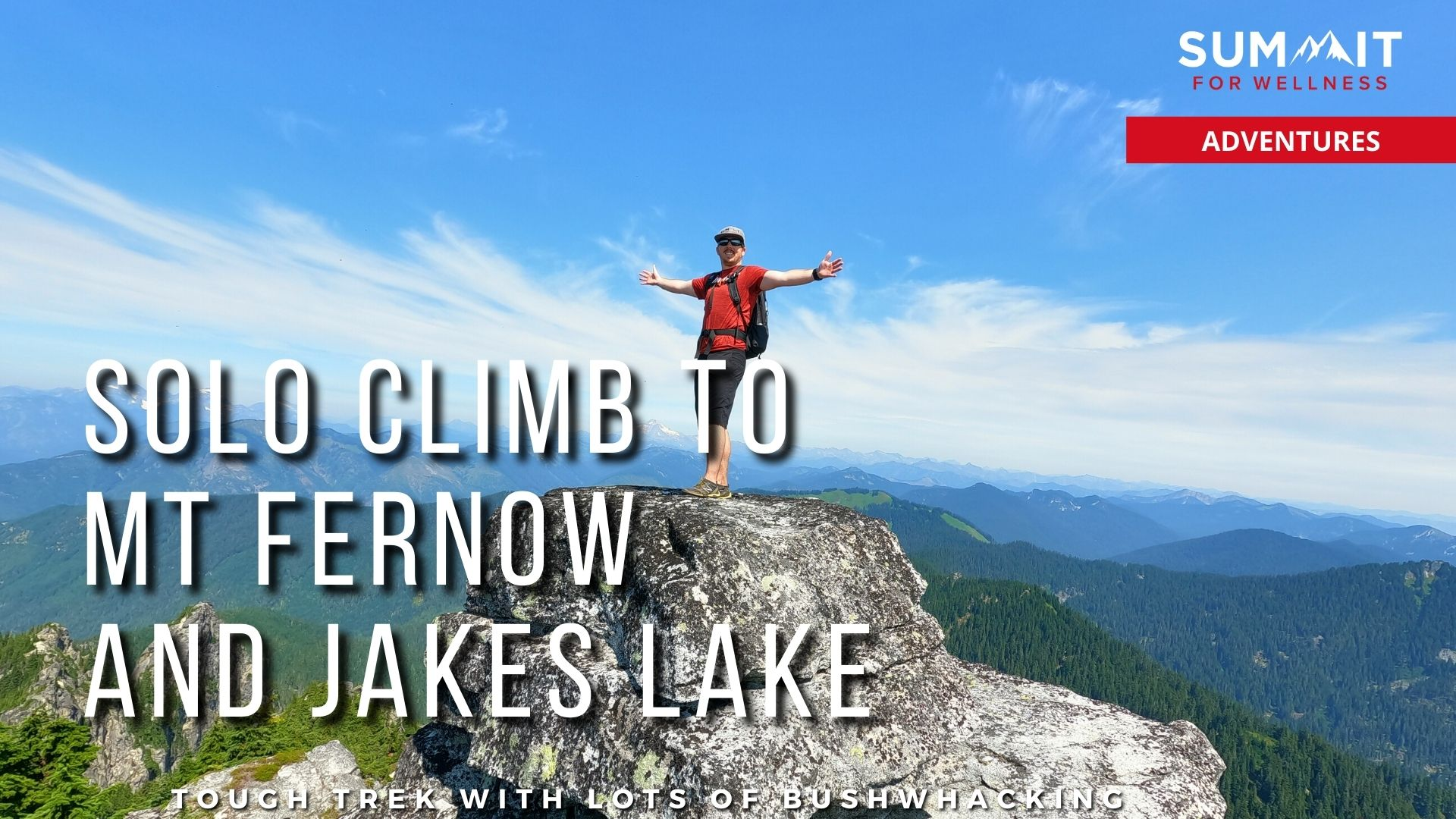 Bryan Carroll summits Mt Fernow