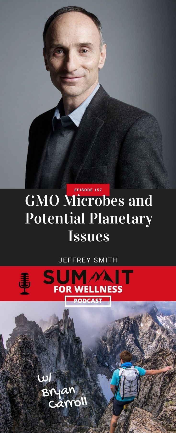 Jeffrey Smith shares how GMO microbes can impact the planet in dangerous ways