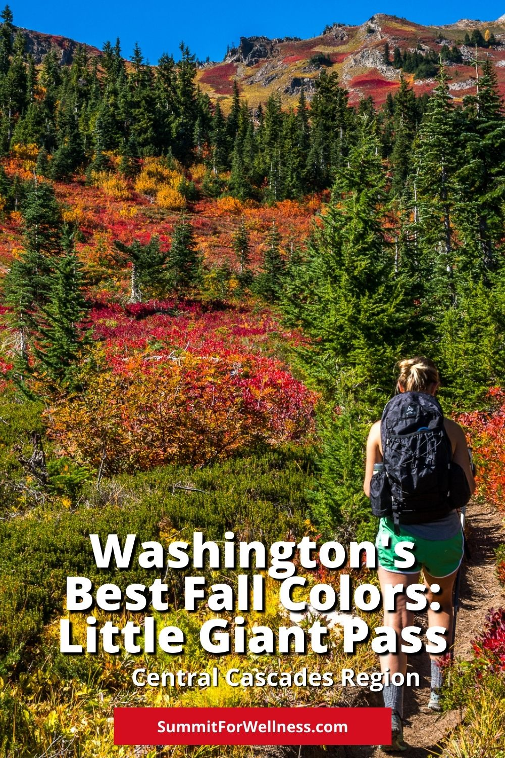 Hike to Little Giant Pass to Enjoy Amazing Fall Colors in Washington