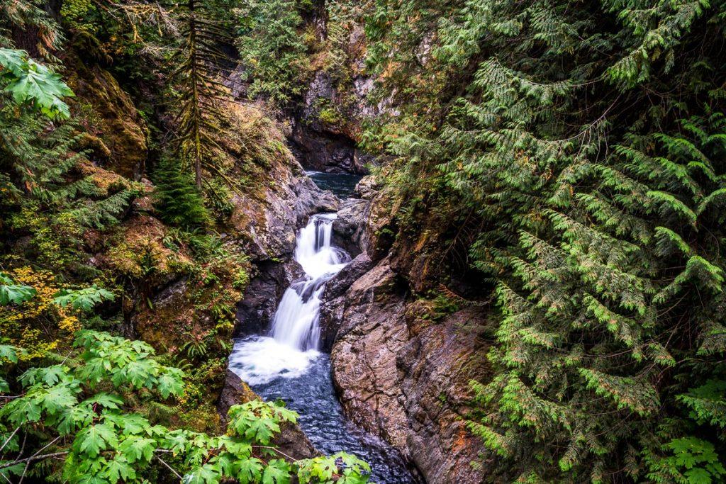 Views of Upper Twin Falls