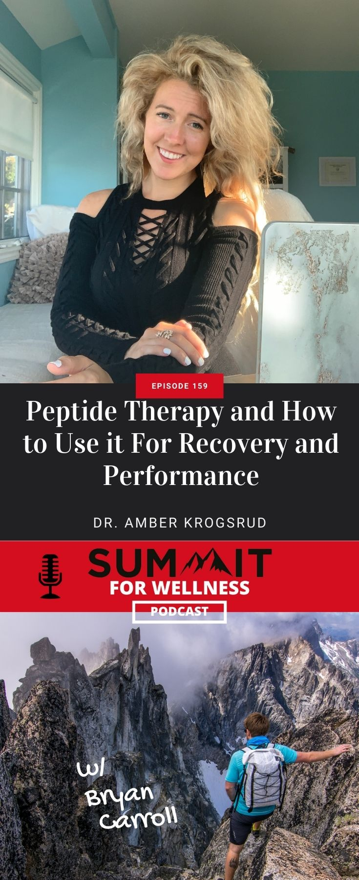 Learn from Dr. Amber Krogsrud how to use Peptide Therapy