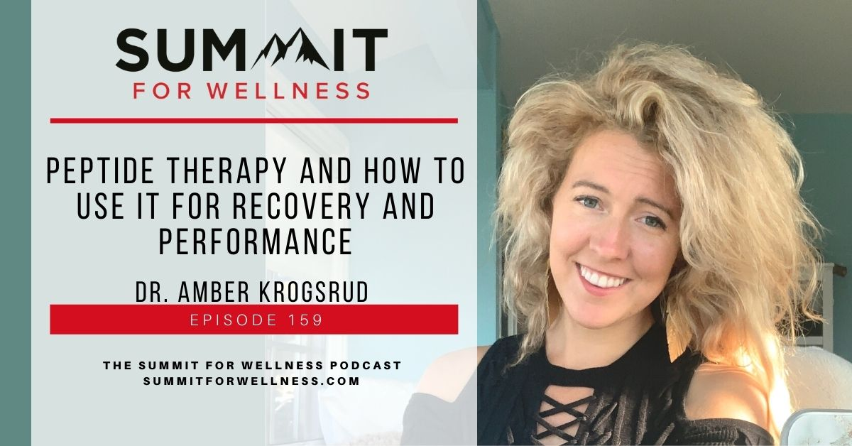 Dr. Amber Krogsrud teaches how to use Peptide Therapy for health purposes.