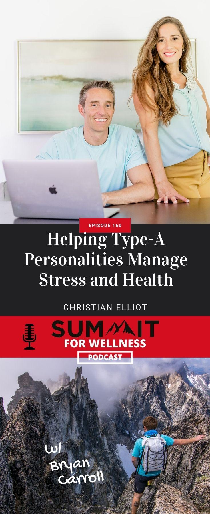 Christian Elliot teaches how to manage stress