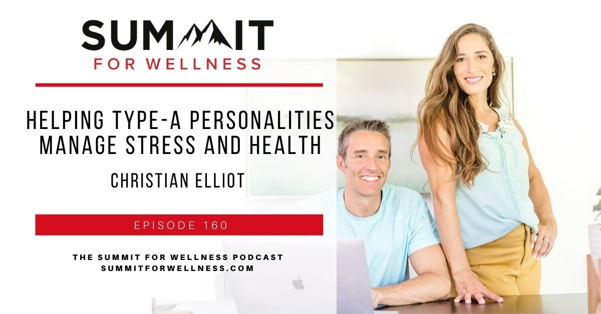 Christian Elliot teaches how to manage stress in a fast paced lifestyle.